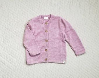 Baby girl cardigan kids alpaca boy sweater girl sweater knitted wool sweater for kids knit pink cardigan girl sweater baby girl knit sweater