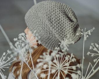 Kids hat Brown wool hat white alpaca hat gray knit hat baby alpaca beanie alpaca wool slouch toddler beanie girl hat boy knitted hat