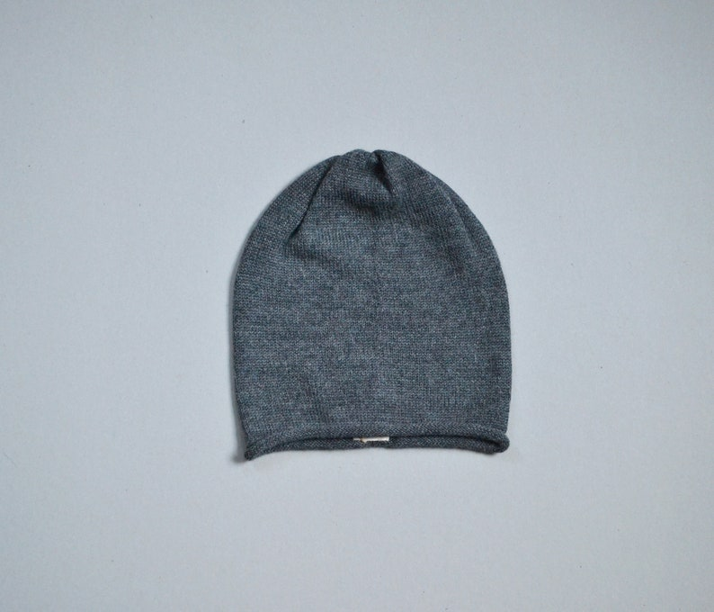 2f62451d06f Roll edge slouchy beanie for woman
