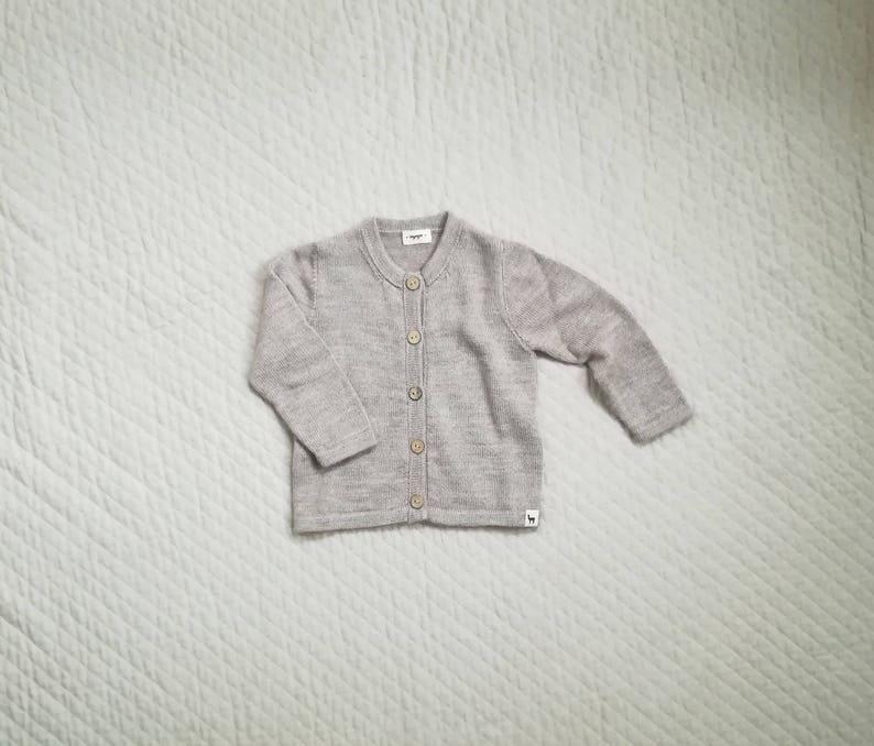 11ad137b0aa1 Baby cardigan kids alpaca boy sweater girl sweater knitted