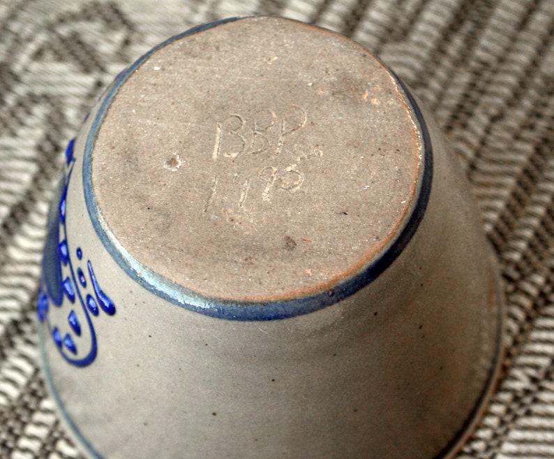 Vintage Beaumont Brothers Pottery Heart Votive Holder 1995 Crooksville,Ohio 2.25 tall