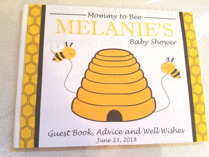 Mommy To Bee Baby Shower Guest Book Parents To Bee Guest Etsy