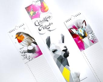 birthday calendar monkimia NEW