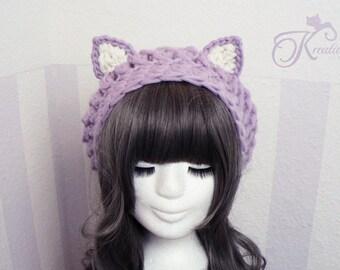Cat hat (lilac)