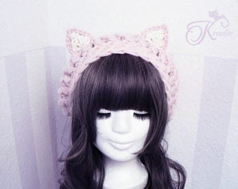 Cat hat (rosé)