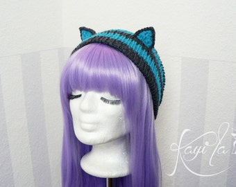 Chesire cat beanie (dark)
