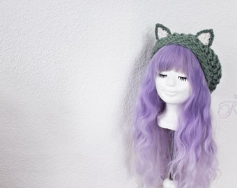 Cat hat (sea green)