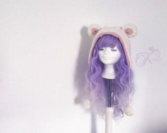 Organic Teddy hat (pink)