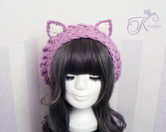 Cat hat (raspberry)