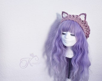 Cat hat (rosewood)