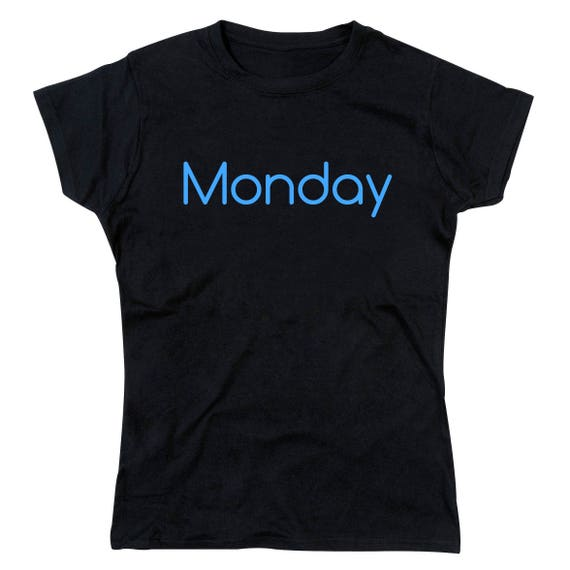 Ladies Blue Monday Tshirt