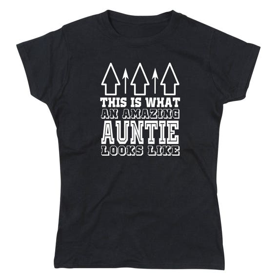 Ladies Amazing Auntie T-Shirt