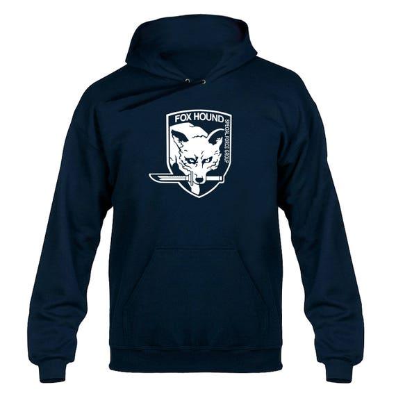 Fox Hound Tribute Hoody Hoodie Hooded Sweater