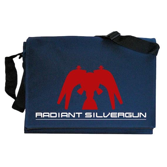Radiant Silvergun Navy Blue Messenger Shoulder Bag