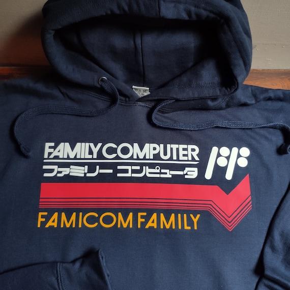 SNES Super Famicom Japanese Tribute Hooded Sweater Hoody