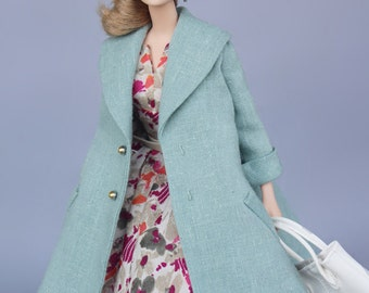 vintage dress with jack for Silkstone Barbie by SL Doll Fashion