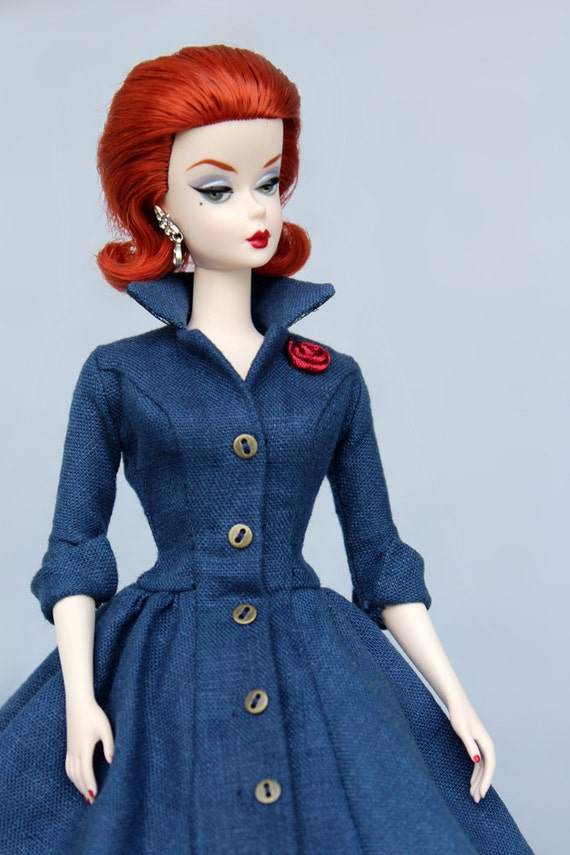 Dress Pattern pdf download for your Silkstone barbie Dolls