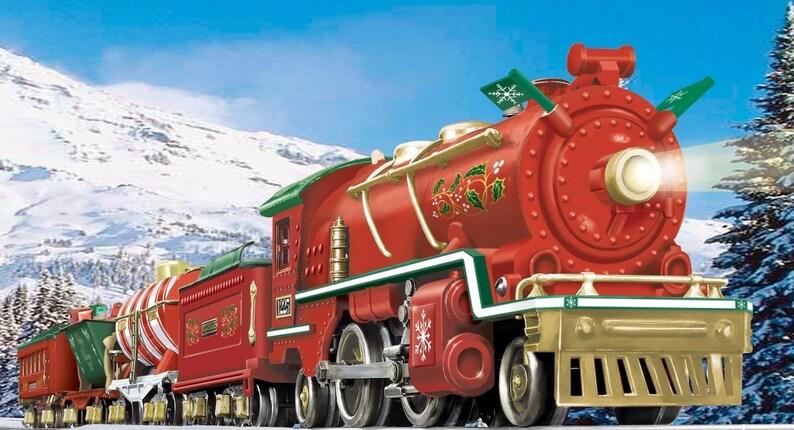 Lionel Christmas Train.Lionel Corporation Christmas Tinplate Train Set 6 51012 Brand New Never Removed From Original Box Lionel Christmas O Gauge Train Set