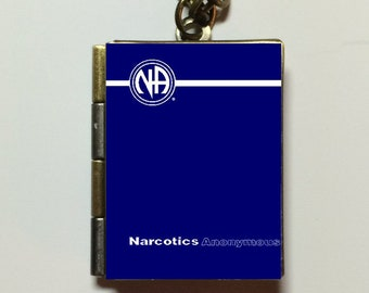 Lot of 5 - Narcotics Anonymous - Text Book Locket