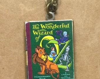 Wizard of Oz Book Cover Locket