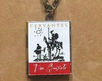 Don Quixote (Man of La Mancha) - Book Cover Locket