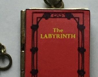 The Labyrinth - Book Locket