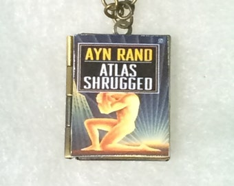 Atlas Shrugged - Book Locket