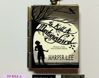 To Kill a Mockingbird - Book Cover Locket