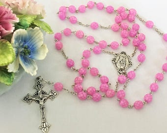 Pink Rosary
