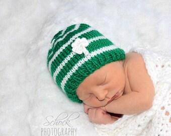 920896763aa Shamrock baby hat