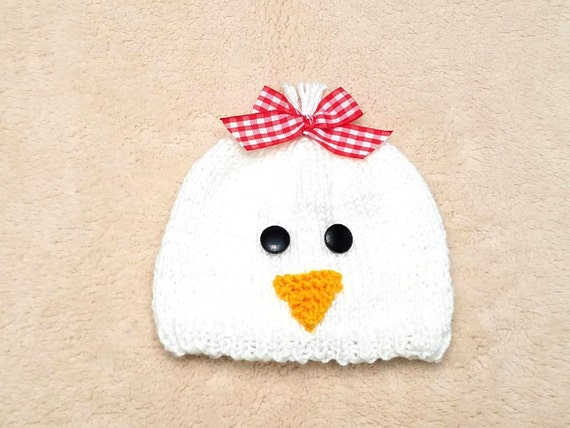 6359f90c3c8 Chicken Baby Hat Chicken Newborn Hat Chicken Baby Costume