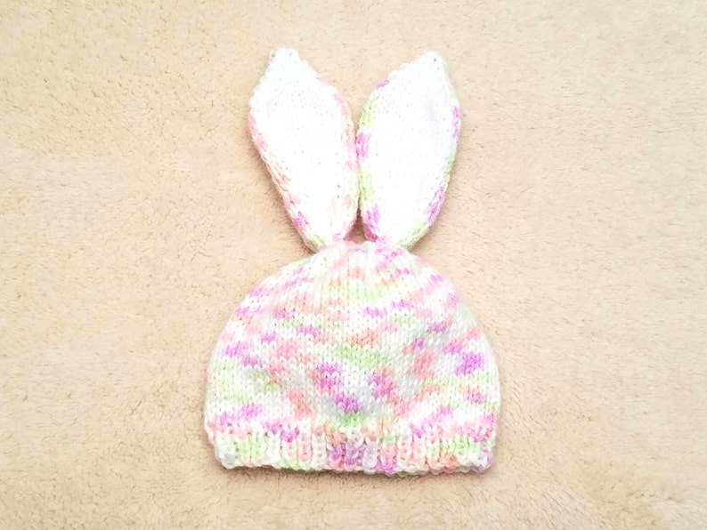 a621c9a5c40 Bunny Baby Hat Bunny Newborn Hat Baby Girl Hat Baby Gift
