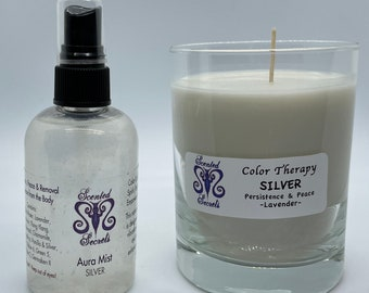 Moon Candle and Moon Water for Peace & Persistence