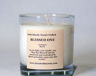 Fertility Candle blessed with an Ancient Celtic Fertility Spell that supports the birth of a child before conception, conception to birth