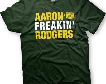 hot sale online a8c85 444de Aaron rodgers shirt | Etsy