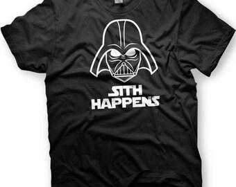 Sith Happens. Darth Vader. Star Wars T-shirt.
