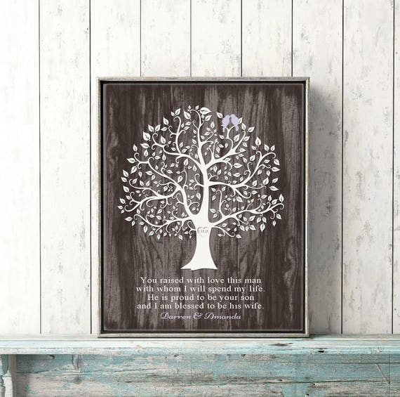 Mother Of The Groom Gift FROM BRIDE Wedding Day Gift