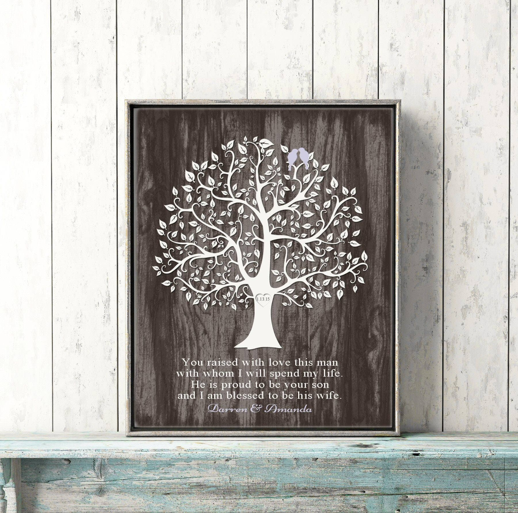 Mother In Law Gifts Wedding: Mother Of The Groom Gift FROM BRIDE Wedding Day Gift