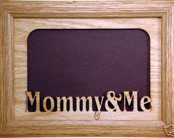 Mom And Me Picture Frame Mom Frame Mom Gift Mothers Day Etsy