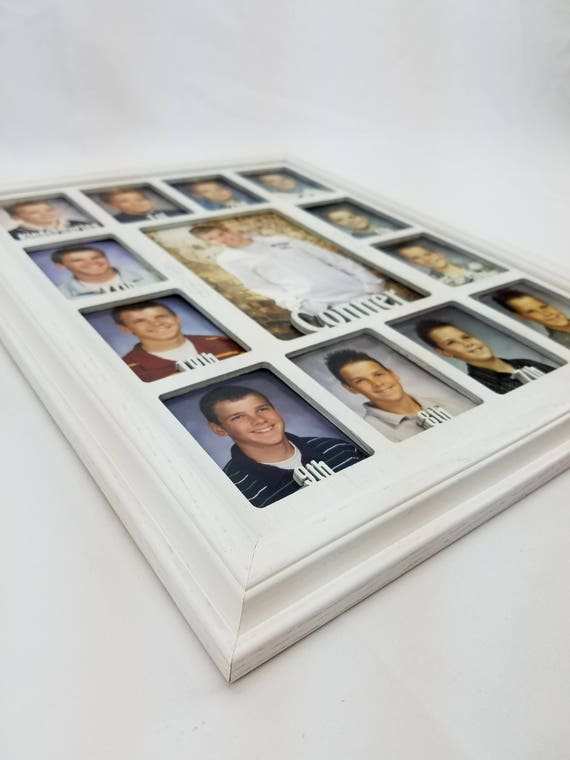 School Years Picture Frame Personalized With Any Name 10   Etsy