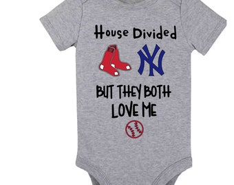 Going Home Outfit Baby Shower Gift Red Sox Baby Personalized Baby Romper and Hat Set Baby Red Sox Baseball Baby Personalized Baby Boy