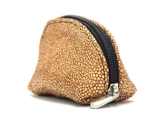 key wallet cowhide key wallet coin purse car key wallet fine calf leather stingray embossing
