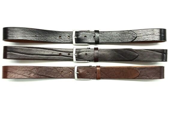 TREND+ breit- NEU! Ledergürtel,Gürtel aus Vollrindleder,3,4 cm SEHR STABIL!
