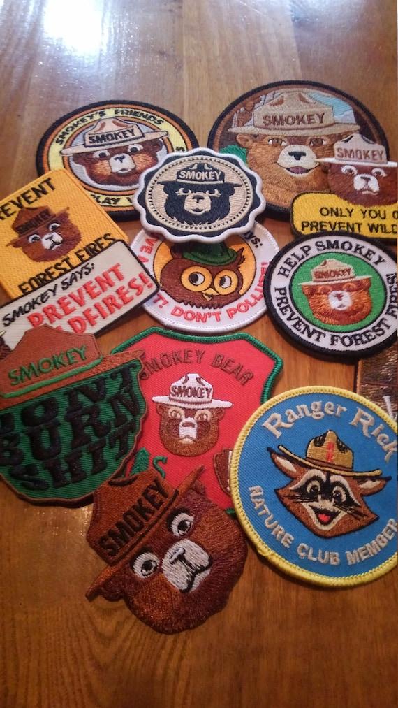 New Smokey Bear, Woodsy Owl, Ranger Rick Collectio