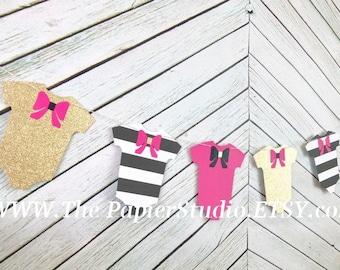Kate Spade Inspired Baby Shower Banner, Garland
