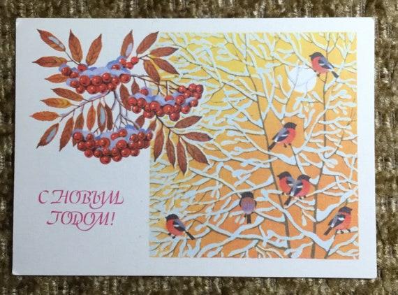 Postcard Russia 1988