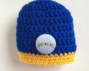 d429e49f86c Milwaukee Brewers baby hat