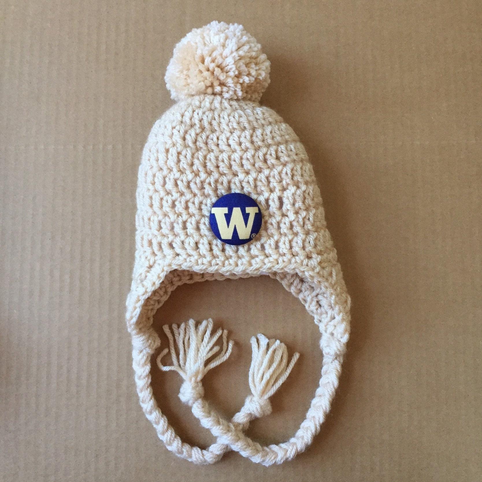 db3f55cd8a1 University of Washington Huskies baby hat