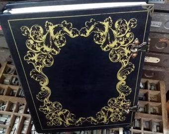 Grand Grimoire, Practical Magic- Beauchamp, Double Book of Shadows - refillable BLACK