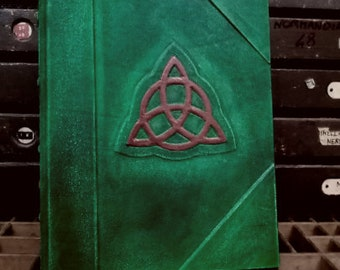 Charmed Blank book of shadows-Great size 11 x 13,77 inches- 1000 pages-wicca-REFILLABLE-